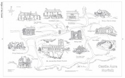 Castle Acre Tea-towel