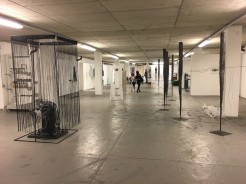 View of the Undercroft, Norwich,  cusp exhibition