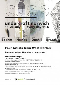 cusp exhibition Norwich